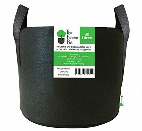 Image of Fabric Root Plant Grow Bags - Plant Pots - Various Litres