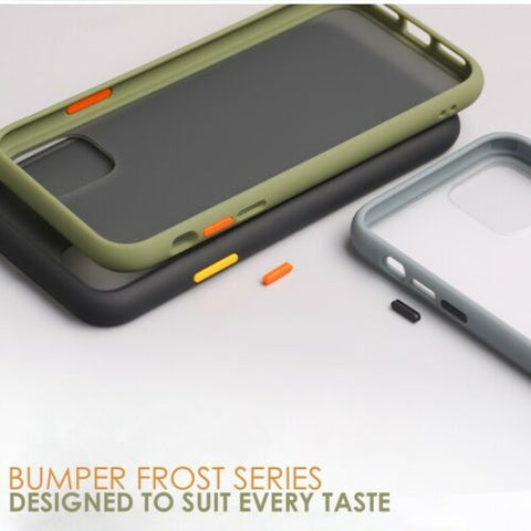 Image of Bumper Silicone Shockproof Case for iPhone 11,11 Pro,11 Pro Max X XS XR 6 7 8