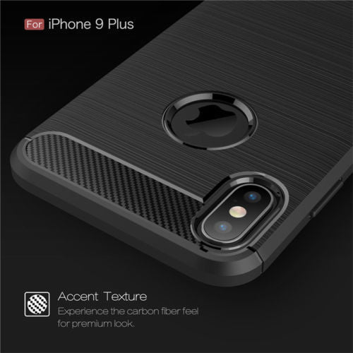 Slim Carbon Fibre Shockproof Case for iPhone 6,7,8,X