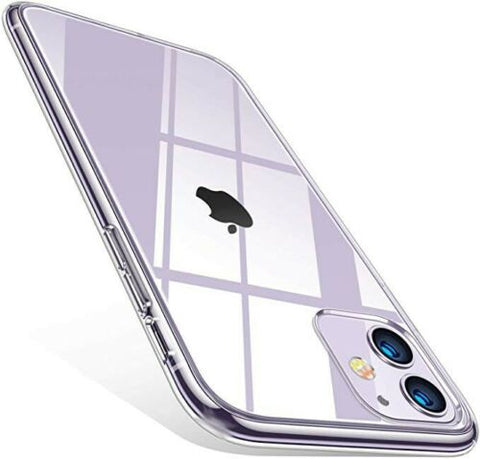 Image of Clear Shockproof Silicone Cover Case for iPhone 5/6/7/8/X/XR/11