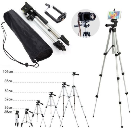 multiple sizes tripod for camera and smartphone