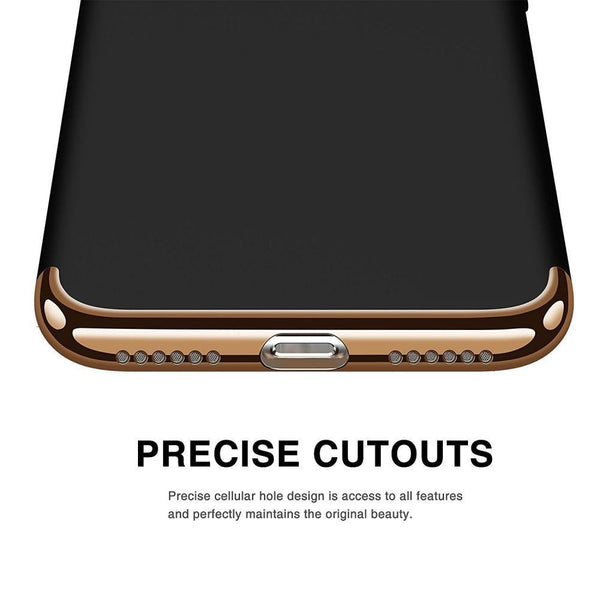 hybrid shockproof case for iphone-precise cutouts