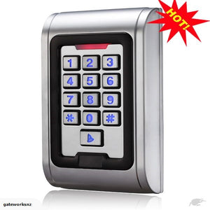 GDS Stainless Steel Solid State Keypad Backlit