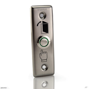 GDS Stainless Steel Push Button with LED