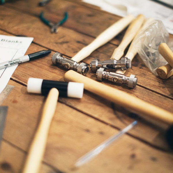 PRIVATE SILVERSMITHING WORKSHOP FOR UP TO FOUR PEOPLE