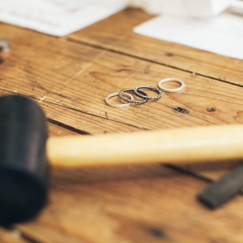 INTRO TO SILVERSMITHING - STACKING RINGS