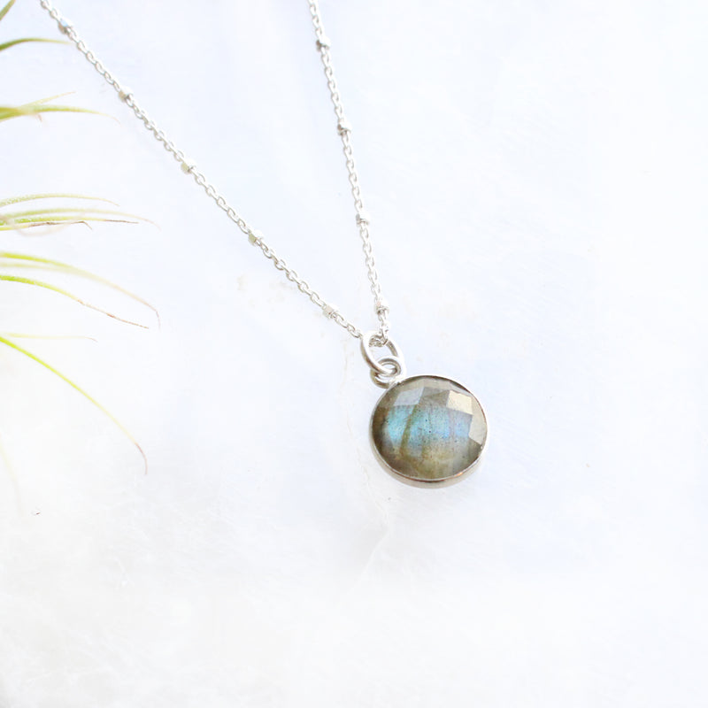 Charmed Labradorite Necklace