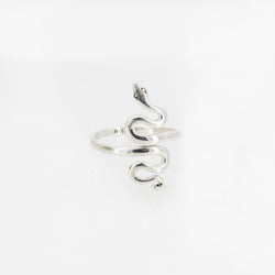 Sterling Snake Wrap Ring