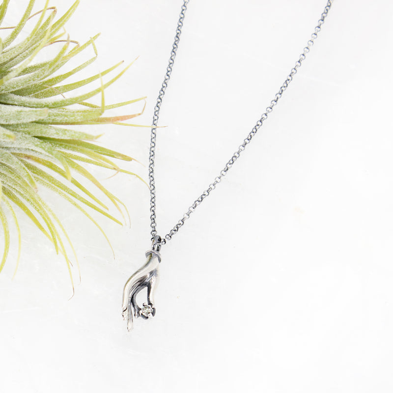 Glimmer of Hope Diamond Necklace