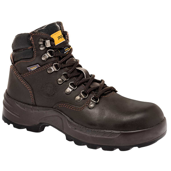 Cliff. Zapato industrial para hombre color café