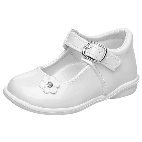 Kids Sofi. Zapato casual para niña bebé color blanco
