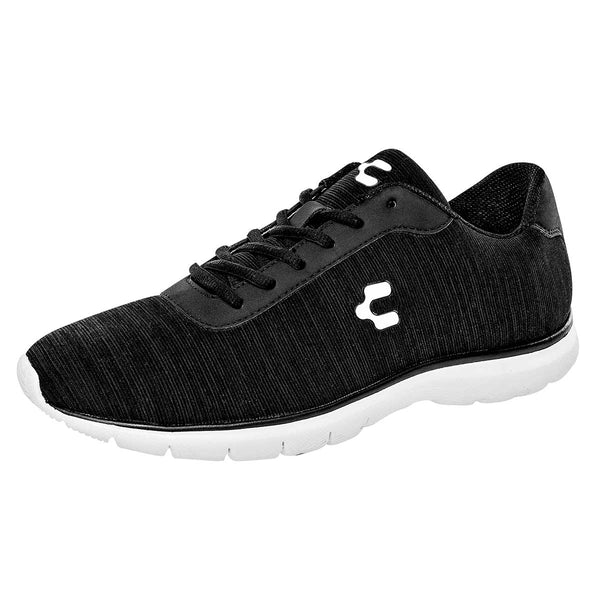 Charly. Tenis deportivo para hombre color negro
