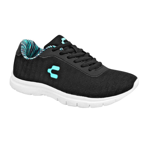 Charly. Tenis deportivo para mujer color negro