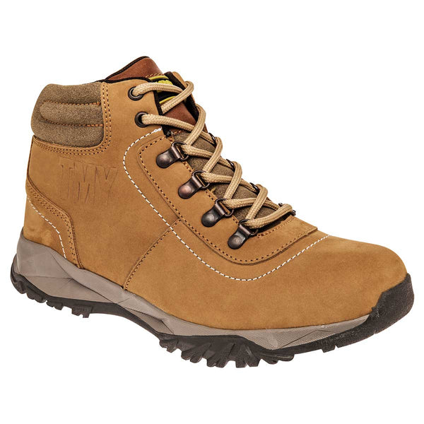Timberry. Hiking para hombre color amarillo