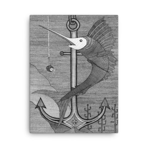 Forever Fishing Canvas