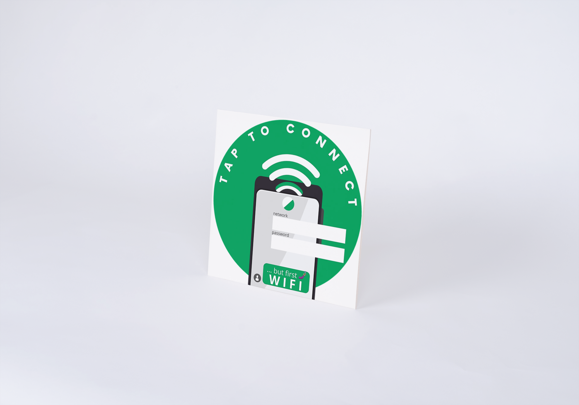Guest WiFi NFC Sticker - 5 Stickers Pack