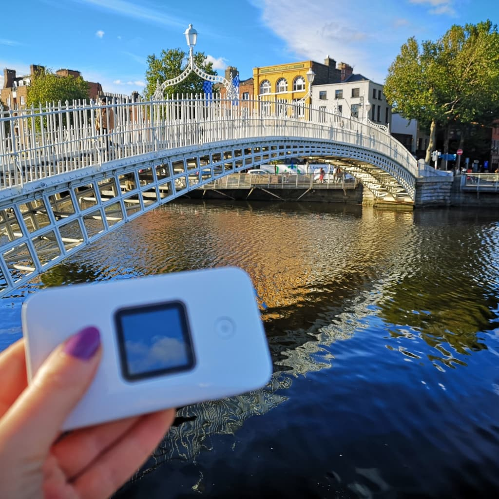 3 Days Pocket WiFi Irlanda