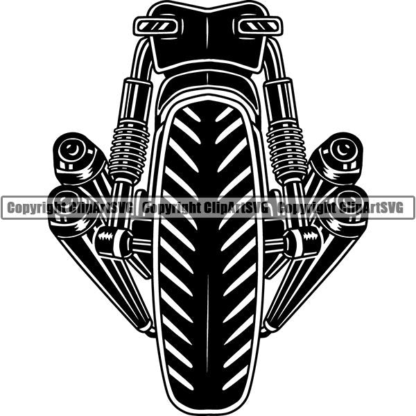 Motorcycle Superbike Superbike ClipArt SVG
