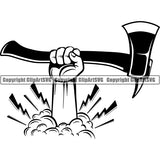 Occupation Firefighting Logo Axe 44r5a lightning.jpg