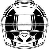 Sports Car Racing Motorcycle Helmet ClipArt SVG