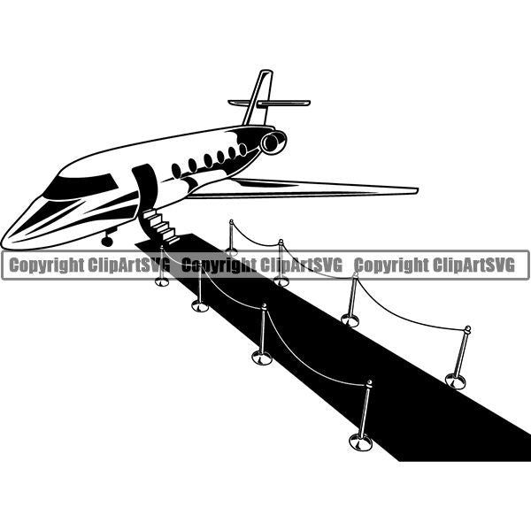 Transportation Airplane Private Jet Runway Carpet 6yyh7.jpg