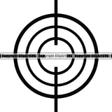 Military Weapon Gun Scope ClipArt SVG