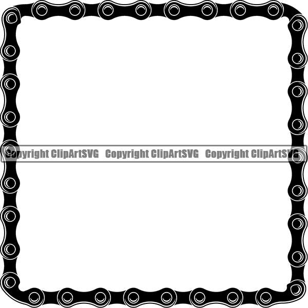 Sports Bicycle Chain Black Highlight Square.jpg