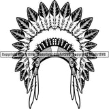 Native American Indian ClipArt SVG