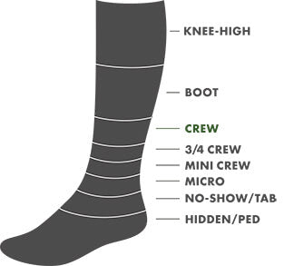 Crew Height Sock