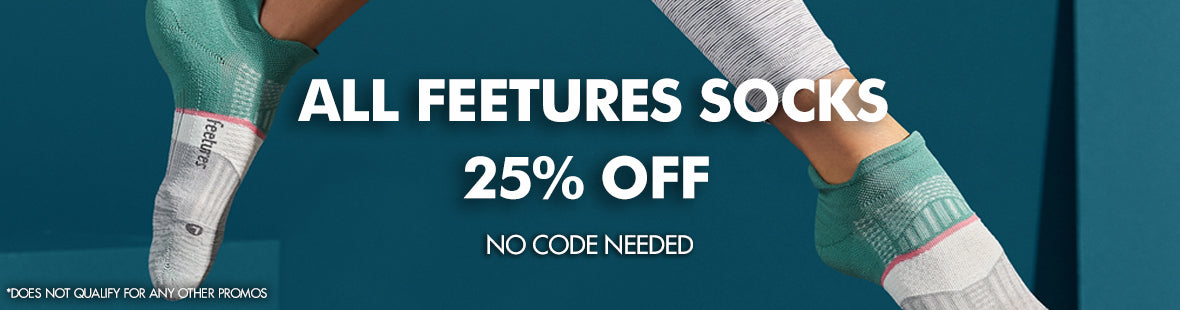 All Feetures 25% off