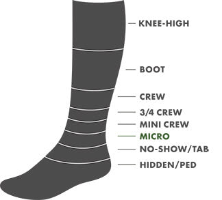 Micro Height Sock