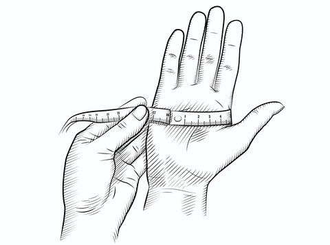 Measure you hand's circumference