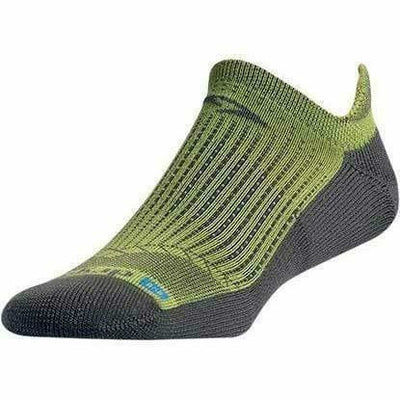 Drymax Running No Show Tab Socks - Small / Sublime/Anthracite