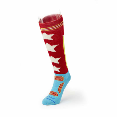 FITS Pro Ski OTC Socks Small / Red