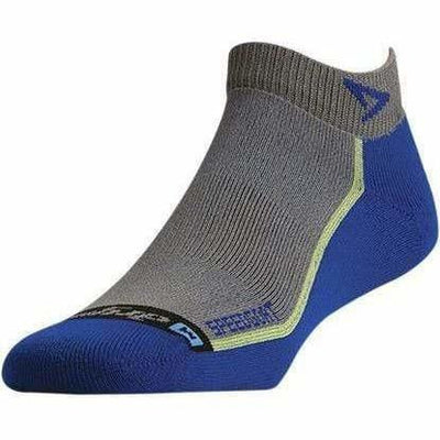 Drymax Speedgoat Lite Trail Run Mini Crew Socks Small / Anthracite/Royal
