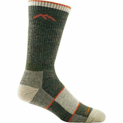 Darn Tough Hiker Boot Full Cushion Mens Socks Medium / Olive