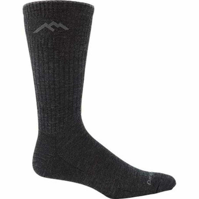 Darn Tough Standard Issue Mid-Calf Light Cushion Mens Socks - Medium / Charcoal