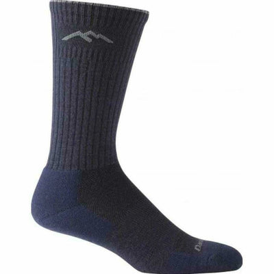 Darn Tough Standard Issue Mid-Calf Light Cushion Mens Socks - Medium / Navy