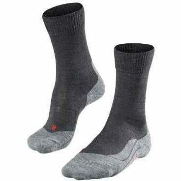 Falke TK5 Mens Trekking Socks - Small/Medium / Asphalt Mel