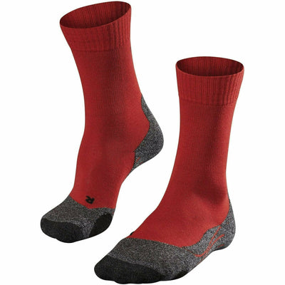 Falke TK2 Womens Trekking Socks - Small / Fire