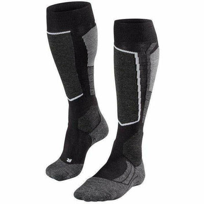 Falke SK2 Mens Ski Socks Medium/Large / Black-Mix