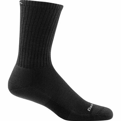 Darn Tough Standard Issue Crew Light Mens Socks Medium / Black