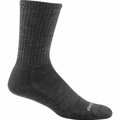 Darn Tough Standard Issue Crew Light Mens Socks Medium / Charcoal