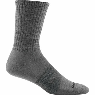Darn Tough Standard Issue Crew Light Mens Socks Medium / Medium Gray