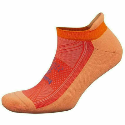 Balega Hidden Comfort Socks - Small / Peach/Neon Coral