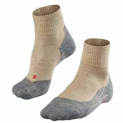 Falke TK5 Mens Trekking Short Socks - Small/Medium / Nature