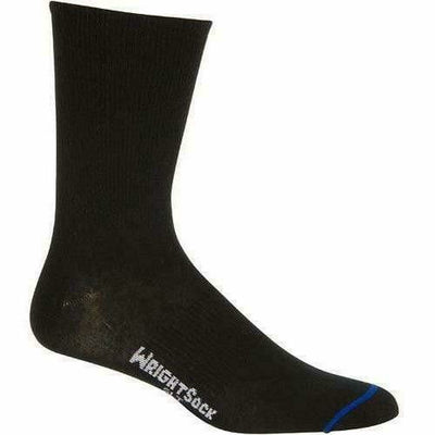 Wrightsock Ultra Thin Crew Socks Small / Black