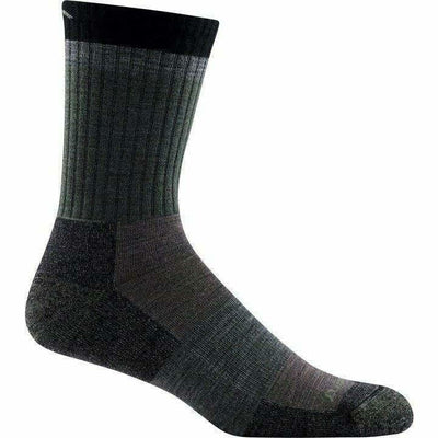 Darn Tough Heady Stripe Micro Crew Light Cushion Mens Socks - Medium / Fatigue