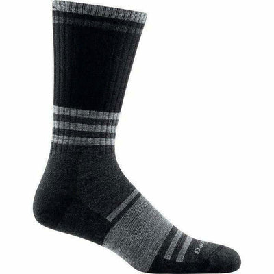 Darn Tough Spur Boot Light Cushion Mens Socks - X-Large / Charcoal