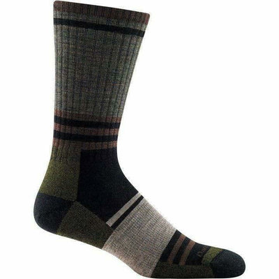 Darn Tough Spur Boot Light Cushion Mens Socks - Medium / Fatigue